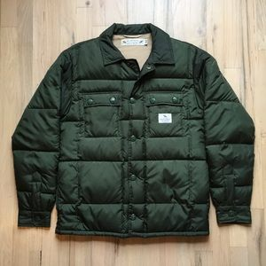 Neighborhood Quilted Padded Shirt Jacket
